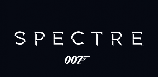"Logo of ""Spectre"", the new James Bond 007 film."